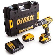 Dewalt DCD796P2 18V 5.0Ah x 2 Cordless XR Brushless Combi Drill /220V Charger