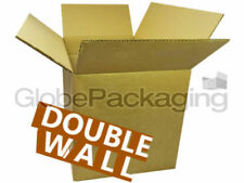"""5 x STRONG 12x9x9"""" D/W Moving Storage Cardboard Boxes"""
