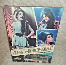 Amy Winehouse - I Told You I Was Trouble - Live In London (DVD Digi-Book) SEALED