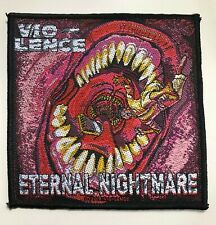 VIO-LENCE Eternal Nightmare Thrash Metal Woven Patch NEW