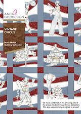 Anita Goodesign Embroidery Machine Design CD VINTAGE CIRCUS
