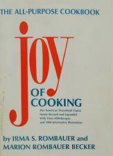 Joy Of Cooking HC/DJ All-Purpose Cookbook Rombauer & Becker 1975 Edition Classic