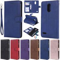 Detachable Wallet Leather Flip Cover Case For LG Stylo 5 G7 V30 LS777 K10 2017