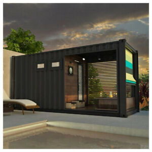 20ft Shipping container Sauna
