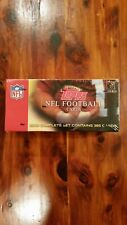 2003 Topps Football Cards Complete Sealed Factory Set - Unopened