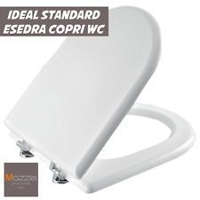 SEDILE COPRIWATER WC IN LEGNO PER ESEDRA IDEAL STANDARD BIANCO MDF