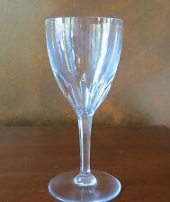 Baccarat Crystal France Genova Cut Tall Water Goblet