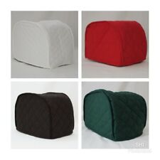 Solid Quilted 2 and 4 Slice Toaster Cover