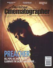 American Cinematographer Magazine 2017 April Preacher Iron Fist Chicago Justice