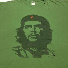Ernesto Che Guevara Green 2xl T-Shirt Argentina Marxist Revolution Military