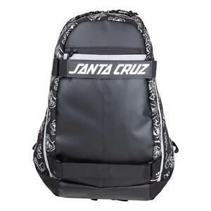 Santa Cruz Dispatch Skate Backpack - Black NEW