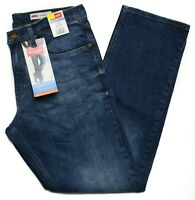Wrangler #9115 NEW Men's Straight Fit Straight Leg Opening Stretch Jeans