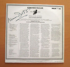 Norman Del Mar SIGNED AUTOGRAPHED LP Elgar Soliloquy Bournemouth RCA LRL1 5133