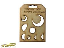 TTCombat - Stars & Moons (Moons) - Snappy Stencils