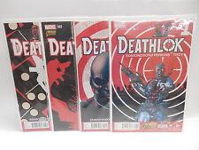 Deathlok Marvel Comic Books 1-4 Cyborg Robot Vigilante