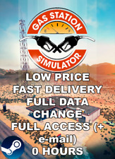 Gas Station Simulator✅STEAM✅ONLY PC✅FULL ACCESS✅FULL DATA CHANGE✅FAST DELIVERY✅