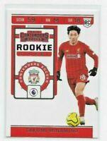 19 20 Chronicles Soccer Contenders Rookie Ticket RT-22 TAKUMI MINAMINO Liverpool