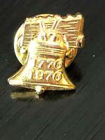 Vintage Collectible Liberty Bell 1776 1996 Metal Pinback Lapel Pin Hat Pin