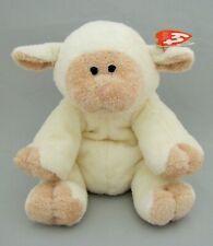TY Pluffies Bashfully 2006 Lamb Sheep Plush Stuffed Animal Toy Beanie Lovey NEW