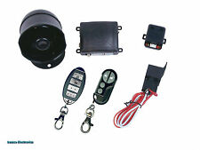 K9 MUNDIALSSX 1-Way Car Alarm Security System with 16 Programmable Features