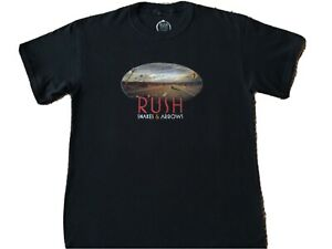 Rush Snakes And Arrows T-Shirt Black NEW Size MEDIUM