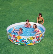 Kids Toddler Snapset Rigid Swimming Paddling Garden Play Pool New