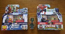 Marvel Minimates Iron Man & Power Princess Spider Man & Power Man Walgreens