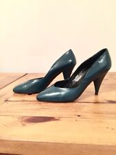 Russel & Bromley Dark Teal Leather Shoes , Size UK 6,5 - EUR 39,5