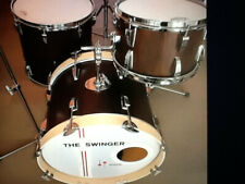 SONOR Swinger drumset special edition walnut 20-12-16fl. 14 brass sn... 850 euro