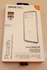 Gear4 D3O® Piccadilly Case for Samsung Galaxy S8 Silver/Clear