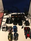6 Anki overdrive cars and accessories lot Skull, Ground Shock charging docks