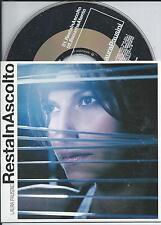 LAURA PAUSINI - Resta in Ascolto CD SINGLE 2TR EU CARDSLEEVE 2004 RARE!
