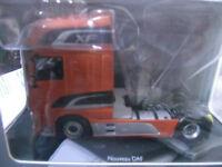 daf xf euro 6 superspace cab orange tracteur camion 1/43 eligor  ref 115545