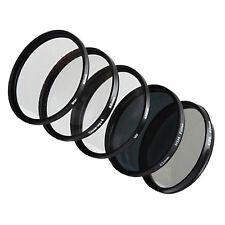 Filter Set  5x FILTERSET  Gitterfilter+CPL+UV+ND8+ Makro 58mm
