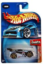 2004 Hot Wheels #008 First Editions 'Tooned Toyota Supra chrome base