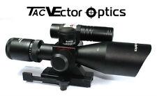 Vector Optics 2.5-10X40 Dual Illuminated .223/5.56 Riflescope with Green Laser