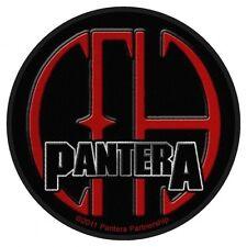 PANTERA-CFH circa PATCH RICAMATE 9x9cm