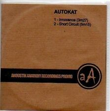 (N441) Autokat, Innocence / Short Circuit - DJ CD