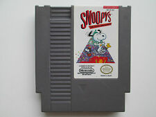 Snoopy's Silly Sports Spectacular! (Nintendo NES, 1990) Game Only--Tested (NTSC)