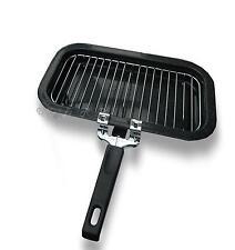 SMALTO BARCA resistenti al calore FILO GRILL PAN & Maniglia Facile conservazione piccole dimensioni STUFA