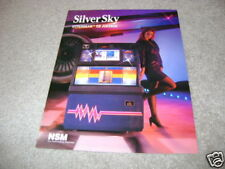 Nsm Silver Sky Cd jukebox flyer