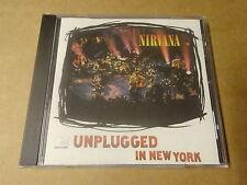 CD / NIRVANA - UNPLUGGED IN NEW YORK