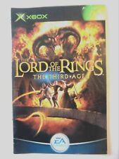 53351 Instruction Booklet - The Lord Of The Rings The Third Age - Microsoft Xbox