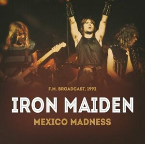 IRON MAIDEN Mexico Madness CD Live Broadcast NEW .cp