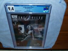 X-Files Season 10 #1 Conspiracy IDW Hastings Exclusive Scully Mulder - CGC 9.4