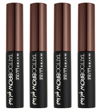 Maybelline Tattoo Brow Gel Tint, Light Brown (Pack of 4)