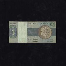 1970-72 Banco Central do Brasil Um (1) Cruzeiro Note - XF Condition