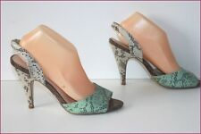 H&M Pumps Ledersandalen synthetisch Stil Reptil t 40 BE