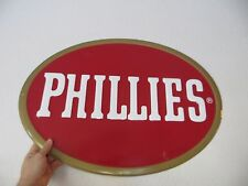 Phillies cigar tobacco point of sale advertising display store oval sign