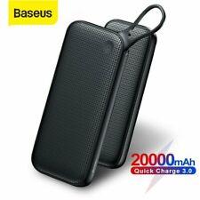 Baseus 20000mAh Power Bank Type C QC PD Portable Phone Notebook External Battery
